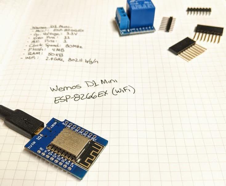 Wemos D1 Mini (ESP-8266EX chipset